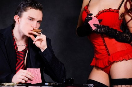 Play Online Poker with hotties